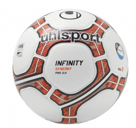Infinity Synergy Pro 3.0 White / Fluo Red / Navy (Size 5) Match Ball